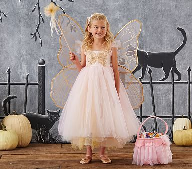 Butterfly Fairy Costume, 7-8 Pink