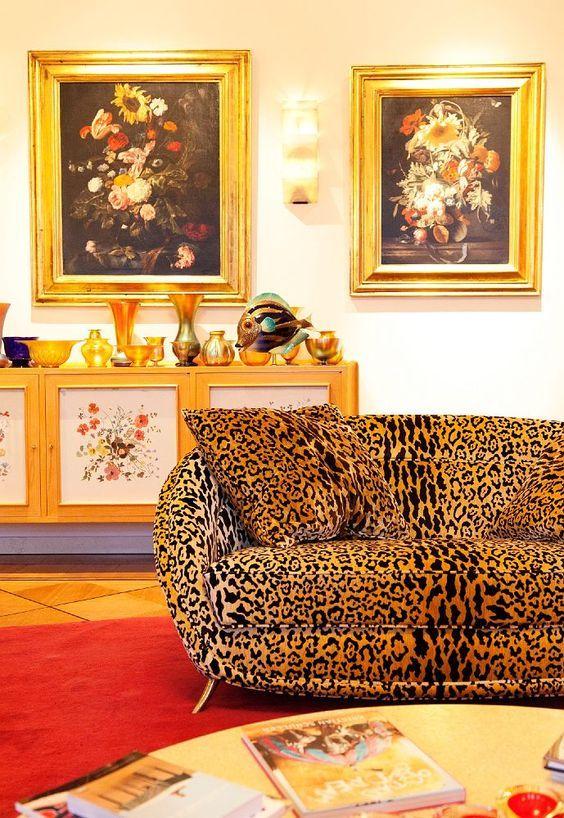 Wolfgang Jooplove Your Leopard Velvet Sofa