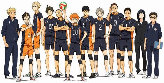 Nuevos diseños de personajes del Anime Haikyuu!! | Otaku News!!