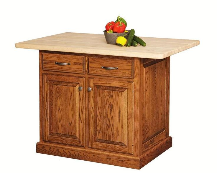Amish Custom Kitchen Island
