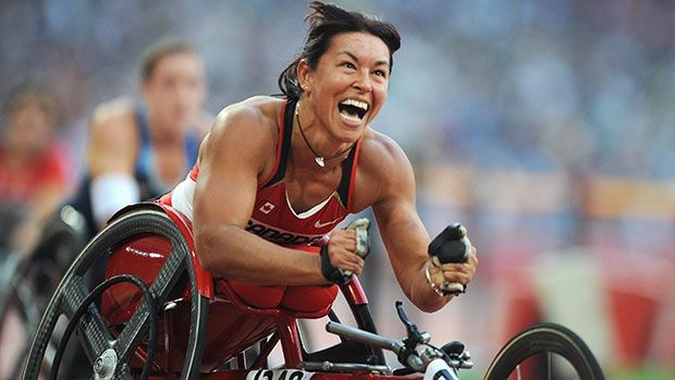 Chantal Petitclerc is a 14-time Paralympic gold medallist.