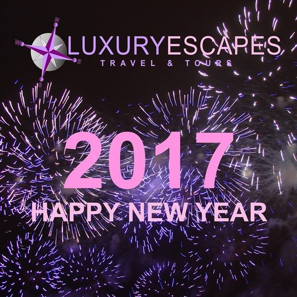 The Luxury Escapes Team wishes you Happy Travelling for 2017!
