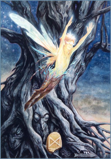 ... Fairies and elves ...: you rarely see artistry of male fairies or pixies. love this artists concept