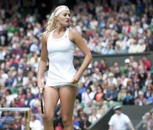 Kristina Mladenovic, Wimbledon 2013