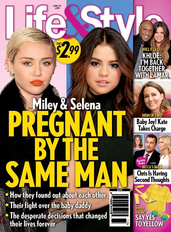 Justin Bieber has gotten both Selena Gomez and Miley Cyrus pregnant, according to a completely ridiculous Life & Style story the tabloid decided to run on its new cover in a desperate bid for attention. Gossip Cop can bust the report, which is somehow even worse than you might imagine. #Lies #Drama #JustinBieber #Celebrities #MileyCyrus