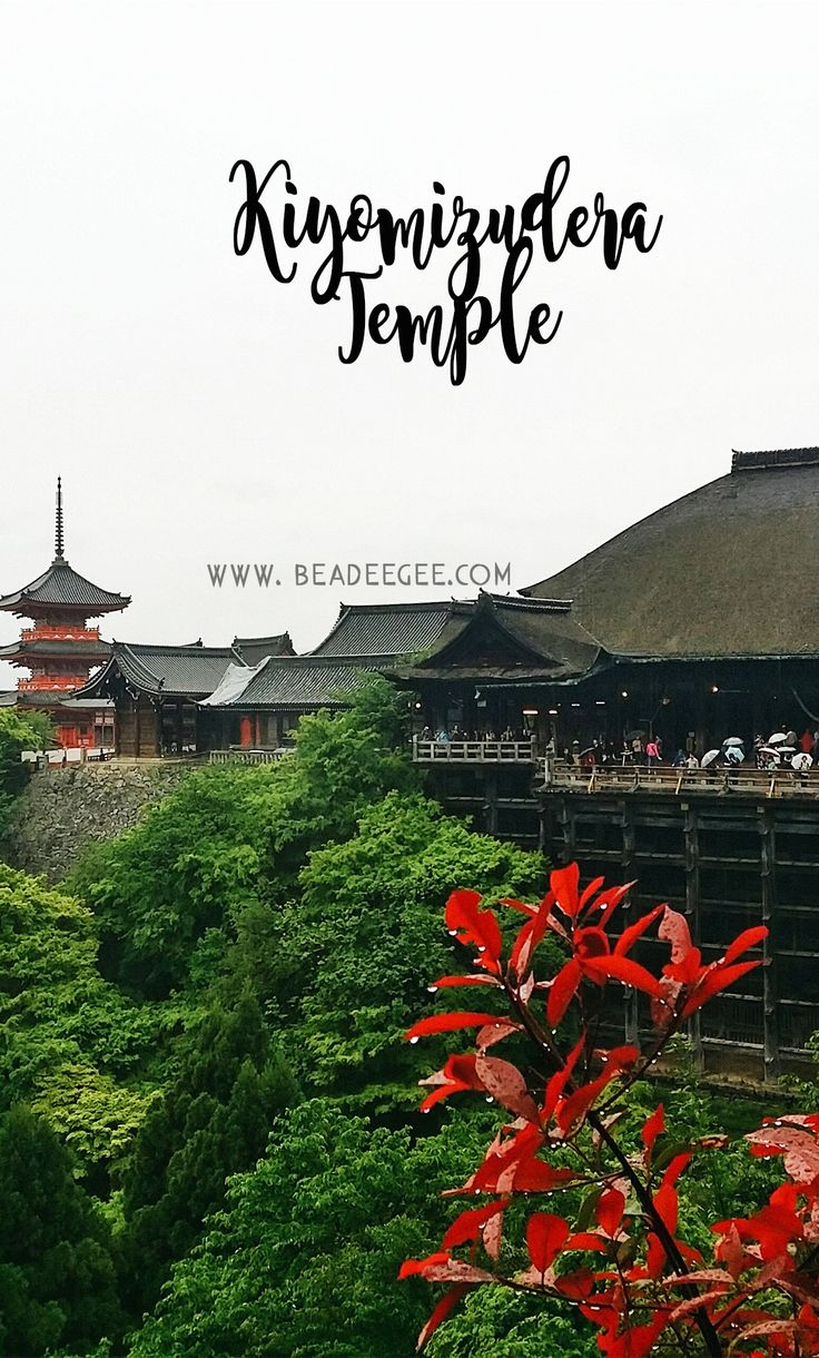 One of Japan's UNESCO Heritage - Kiyomizu-dera Temple