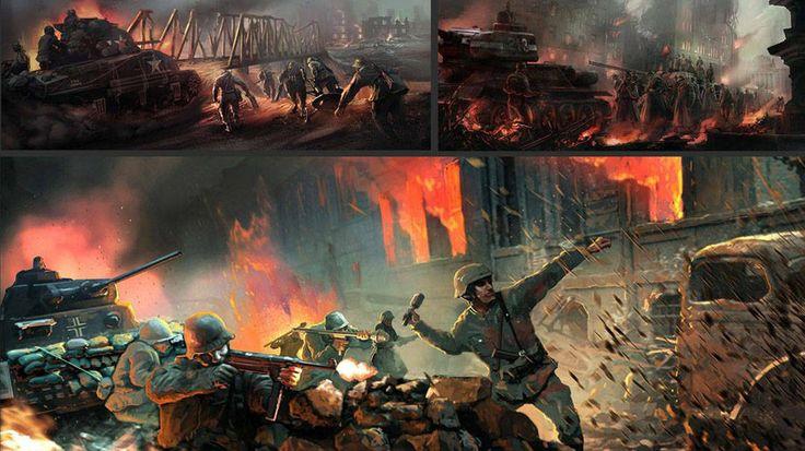 Game Concept Art - Dhruva Interactive