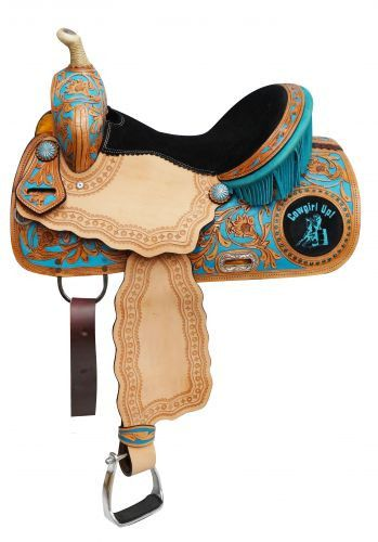 "16"" Cowgirl Up Barrel Saddle"