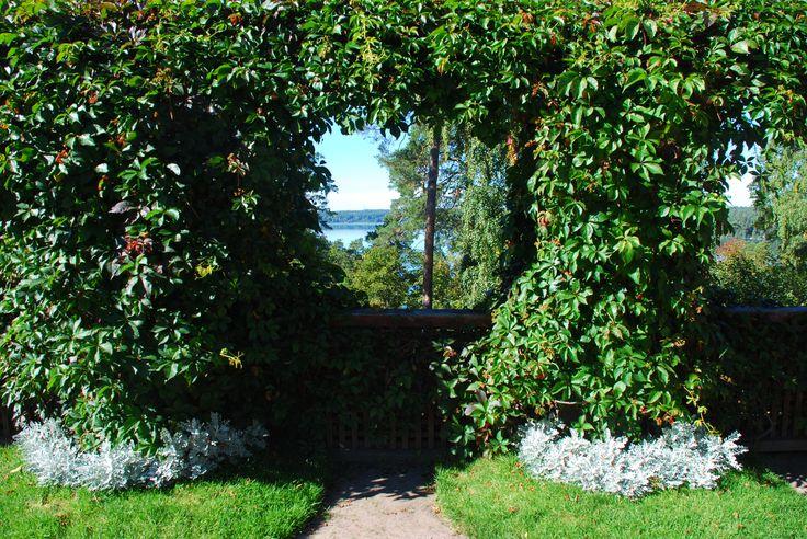 A view from the terrace of Hvitträsk (Kirkkonummi, #Finland)