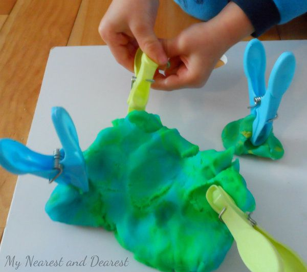Just add Play Dough - 20 things to add