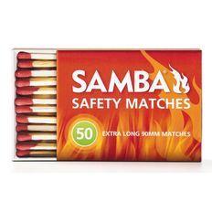 Samba Matches BBQ 90mm