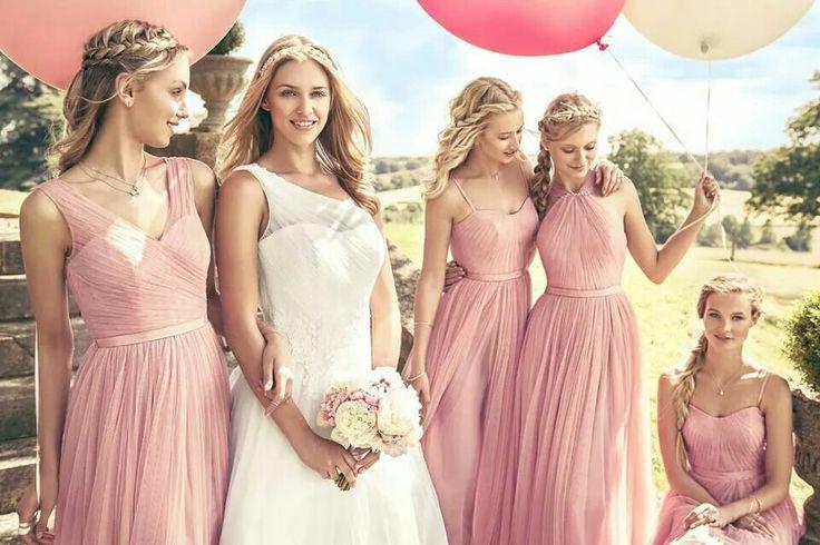 Best 25 vestidos palo de rosa ideas on pinterest - Color rosa palo ...
