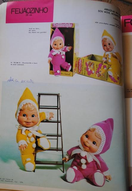 Coleção Boneco Feijãozinho da Estrela Década 70