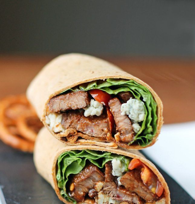 18 High-Protein Wraps That Make for a Quick and Easy Lunch via Brit + Co