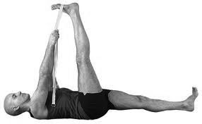 Yoga For Men: 10 Yoga Poses For Strength And Flexibility. Reclining Big Toe: Stretches hips, thighs, hamstrings, groins, and calves; strengthens the knees. http://www.yogapaws.com/yoga-blogs-yoga-paws/bid/32706/Yoga-For-Men-10-Yoga-Poses-For-Strength-And-Flexibility