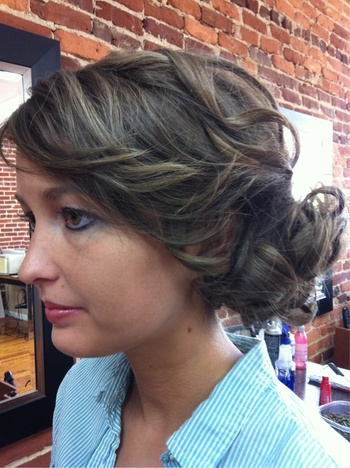 Not your prom hair up-do.