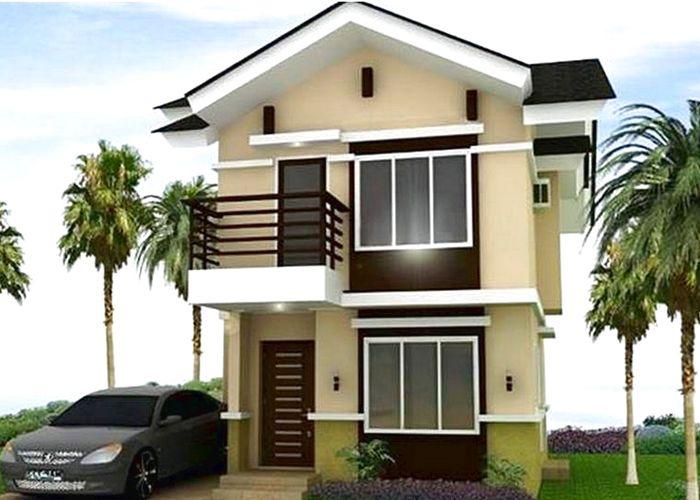 Contoh Desain Rumah Minimalis 2 Lantai Sederhana Home Fashion