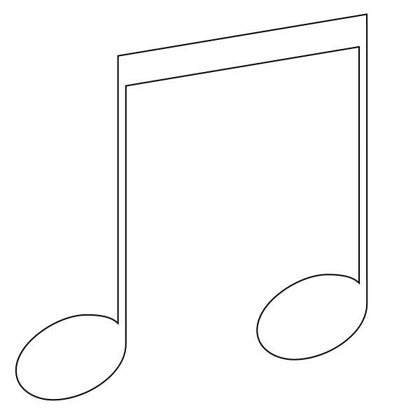 Music Notes Symbols Coloring Pages Music Note Symbol Music Notes Coloring Pages