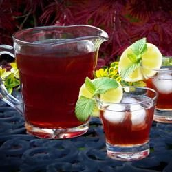 This Raspberry Iced Tea is amazing...my new favorite summer drink!  http://allrecipes.com/recipe/raspberry-iced-tea/
