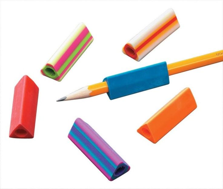 Pencil Grips - I used to chew on these... lol