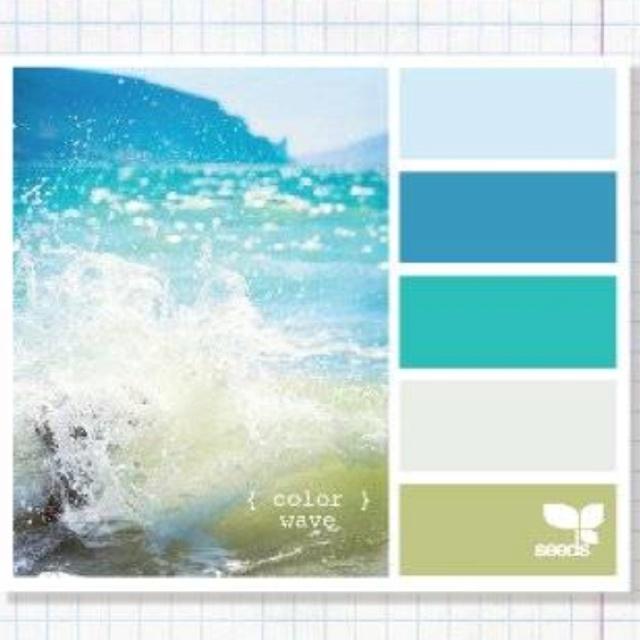 Wave color pallet