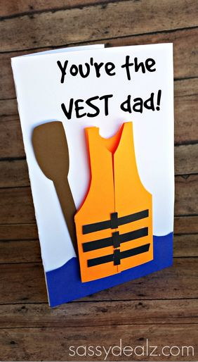 youre the vest dad fathers day card...