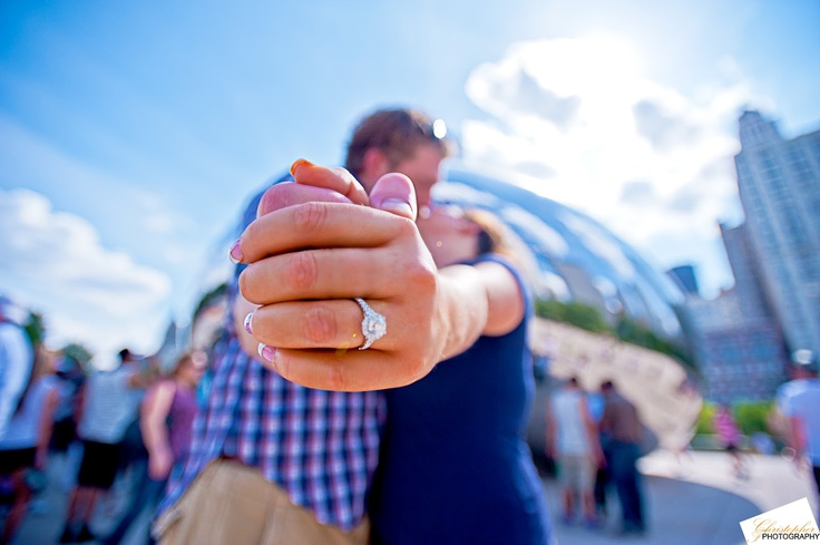 Chicago Engagement Photo - Christopher F. Photography