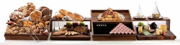 Pan y más... Equipo para buffet  #Zieher