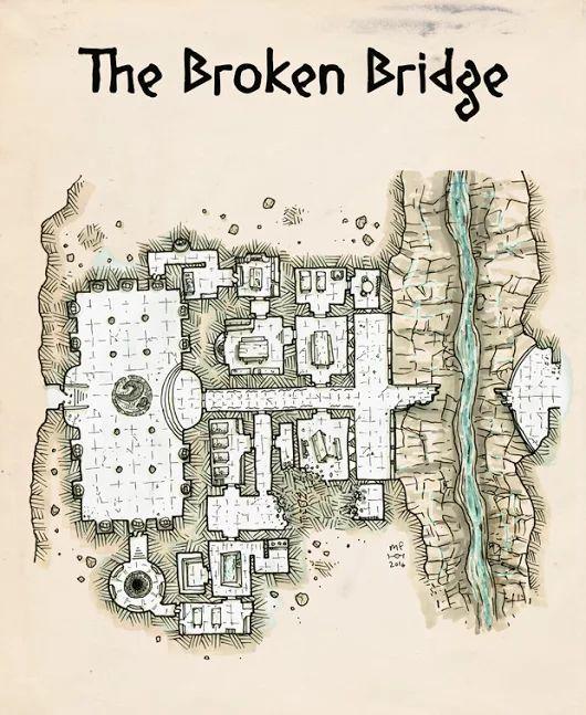 [Map] The Broken Bridge