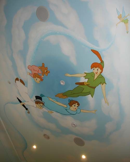 Peter Pan Bedroom Ceiling Part 64