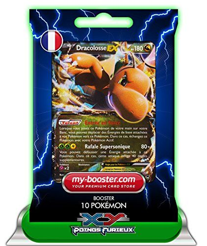 DRACOLOSSE EX 74/111 180PV XY03 Poings Furieux – Booster de 10 cartes Pokemon francaises my-booster: Booster de 10 cartes Pokemon…