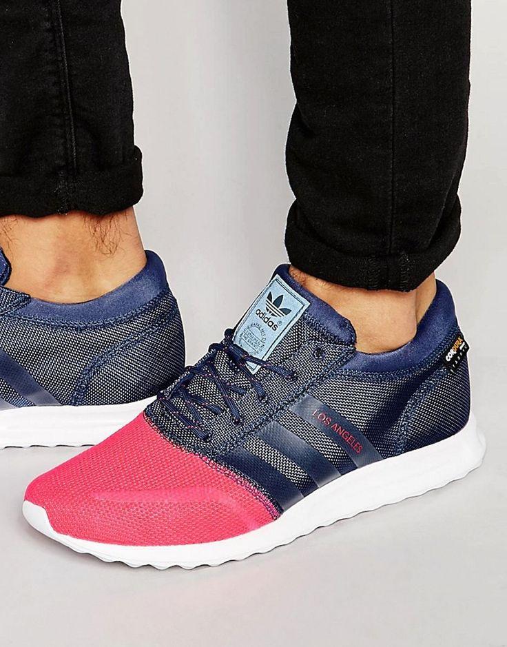 Mega seje adidas Originals Los Angeles Trainers S79021 - Blue adidas Originals Løbesko til Herrer i fantastisk kvalitet