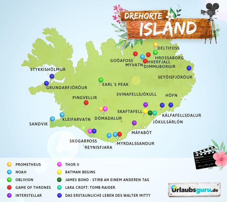 Ob bewusst oder unbewusst, fast jeder war schon mal an einem Drehort eines Filmes oder einer Serie. Schöne Filmmotive findet man nämlich rund um den Globus, so zum Beispiel auch auf der Nordhalbkugel gelegenen Insel Island. Ich zeige euch in meinem Reisemagazin die schönsten Drehorte auf Island.