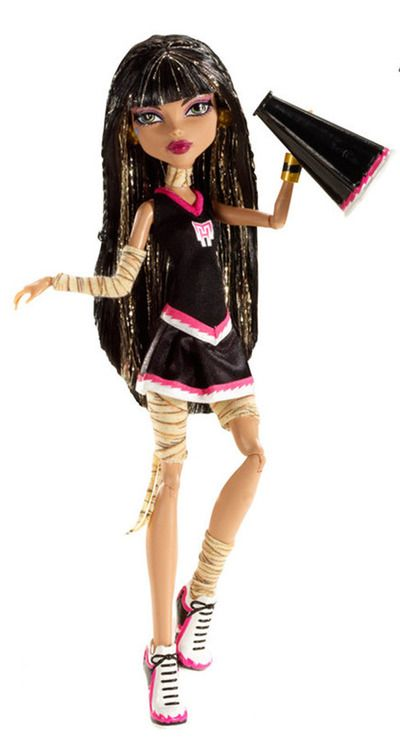 Monster High Cleo de Nile Fear Leading
