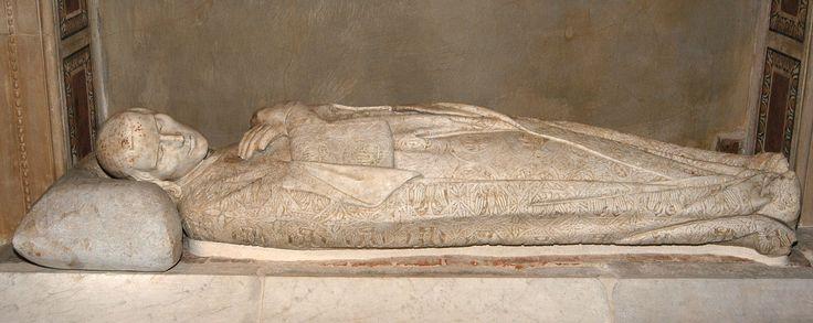 Tino di Camaino, Monumento funebre di Arrigo VII, 1315, realized for Siena and now in the Museo della Primiziale, Pisa