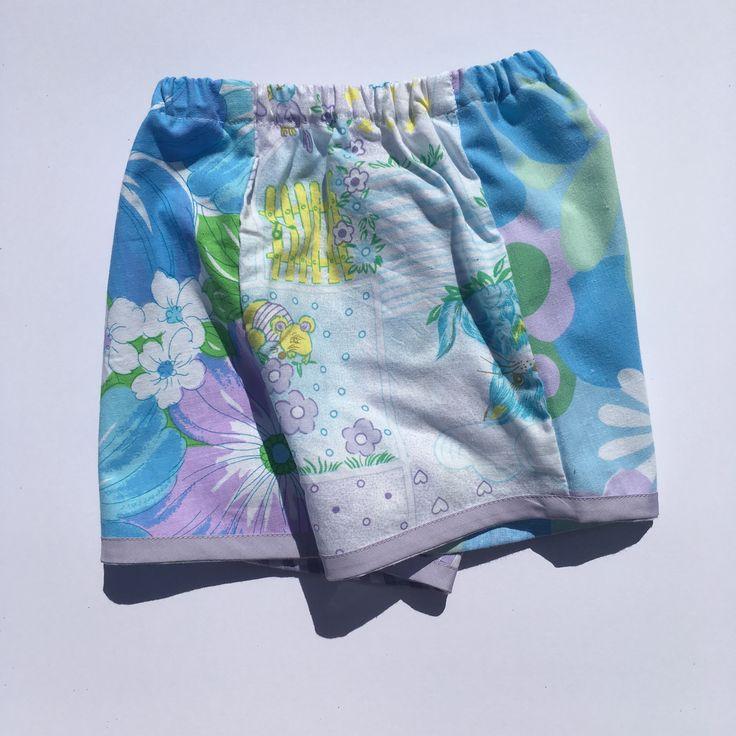 Lu girls shorts Handmade children's clothing