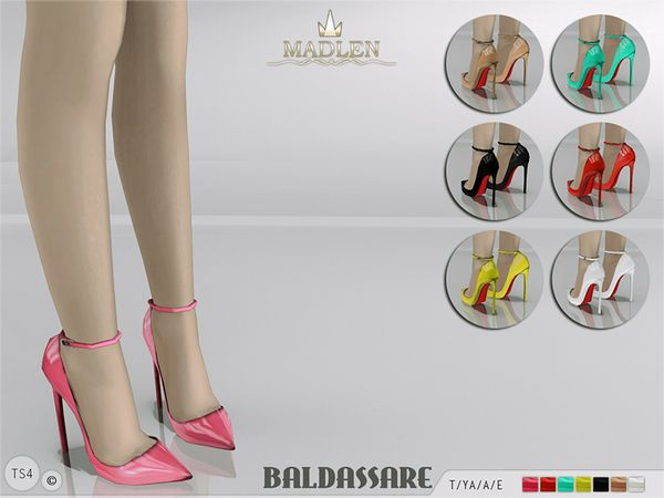MJ95's Madlen Baldassare Shoes | Sims 4 Updates -♦- Sims Finds & Sims Must Haves -♦- Free Sims Downloads