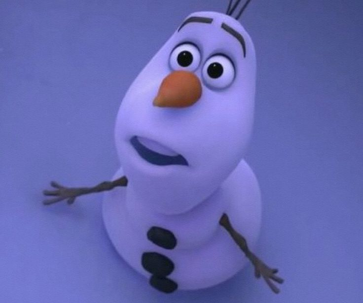 frozen olaf i dont have a skull