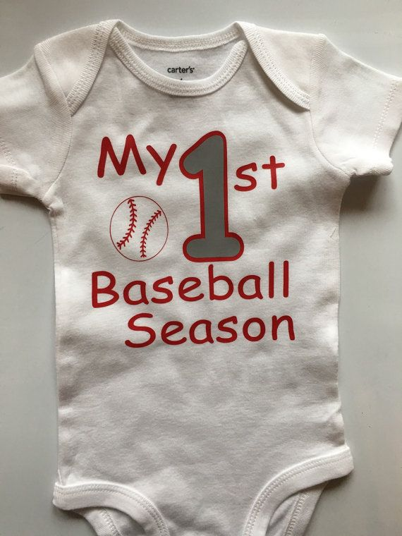 Baby boy baseball outfit  baby boys 1st baseball by AboutASprout