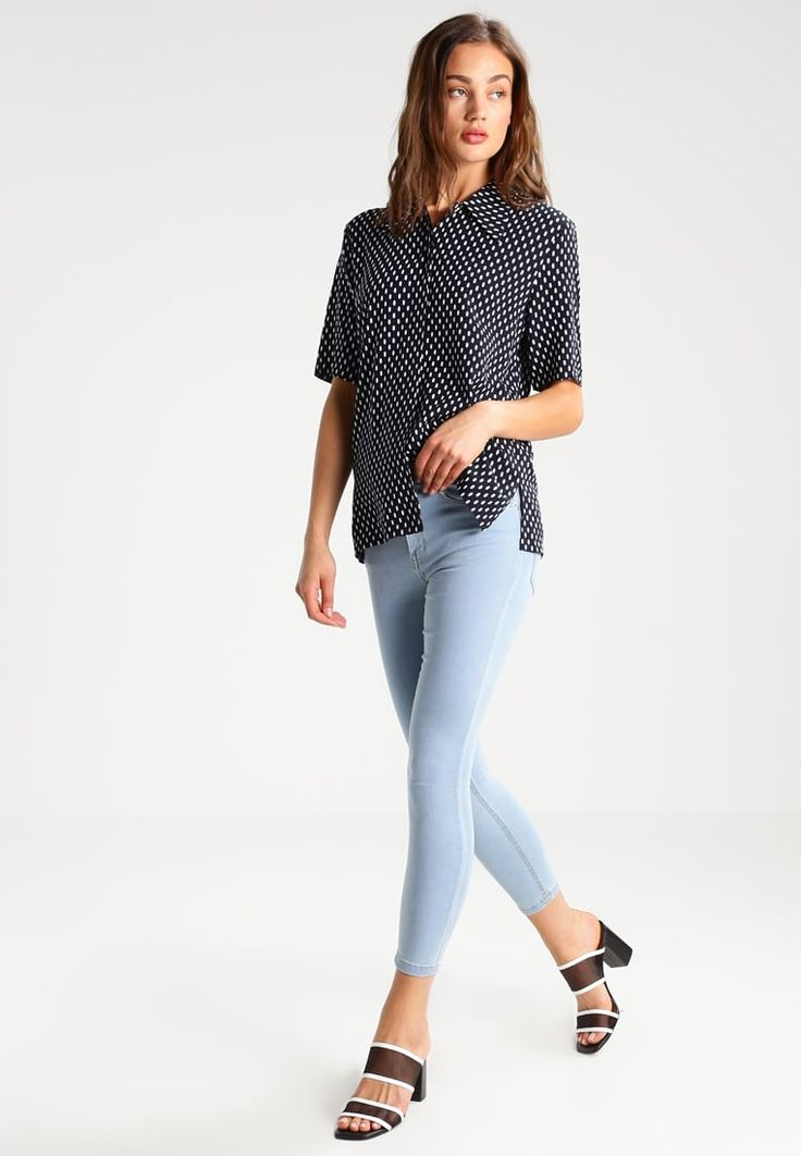 Bik Bok ALEXIA - Jeans Skinny Fit - light blue denim - Zalando.pl