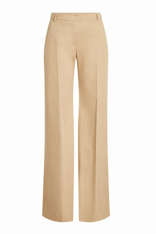 BURBERRY Straight Leg Cotton Pants. #burberry #cloth #