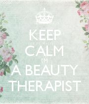 KEEP CALM I'M A BEAUTY THERAPIST - Personalised Poster large