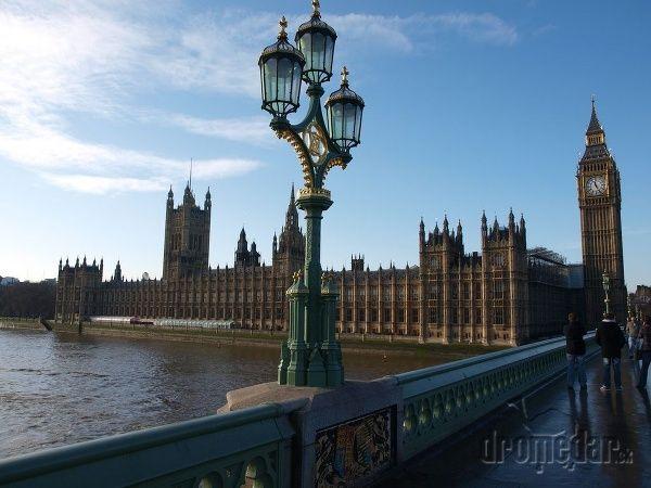 Big Ben a anglický parlament | Dromedár.sk