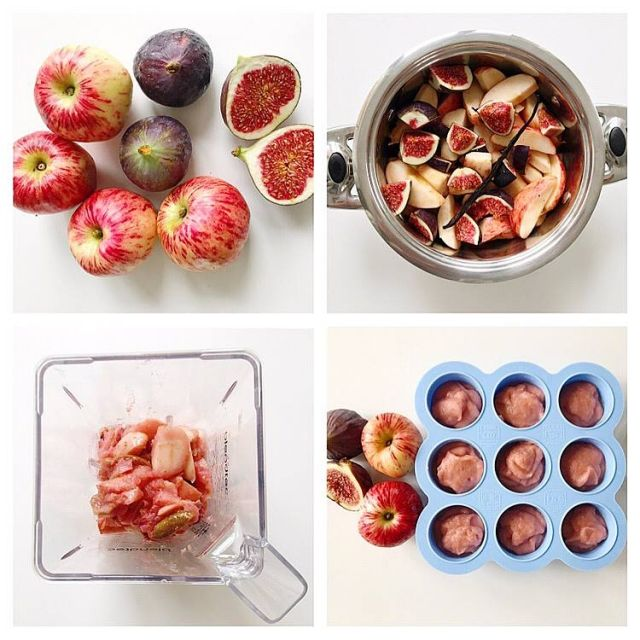 93 best baby food 6 8 months images on pinterest baby foods vanilla figs and apple baby food pure is such a versatile pure and makes a forumfinder Image collections