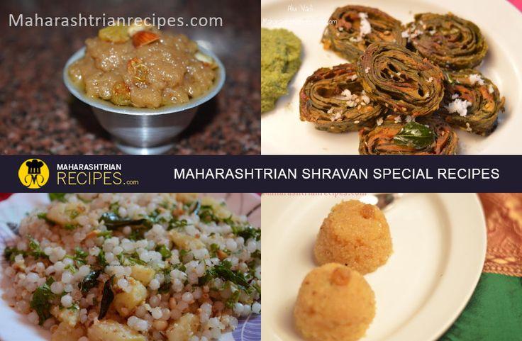 Learn traditional Maharashtrian Style of preparing Shravan Upvas Recipes. Read Maharashtrian Upvas Recipes for Shravan Month Fasting from Maharashtrian Recipes here.