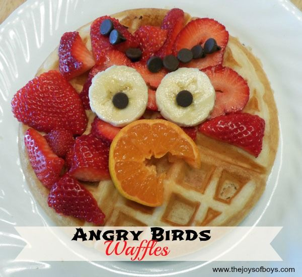 Angry Birds Waffles Best Angry Birds Waffles And Bird Ideas