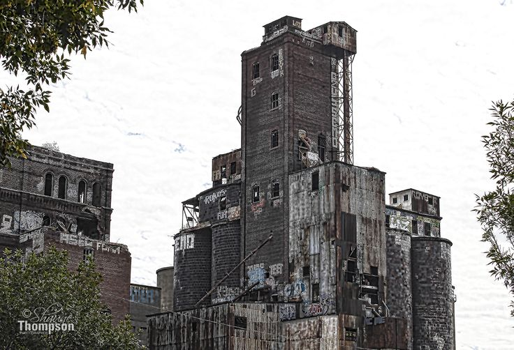 Industrial Cathedral, Lachine Canal
