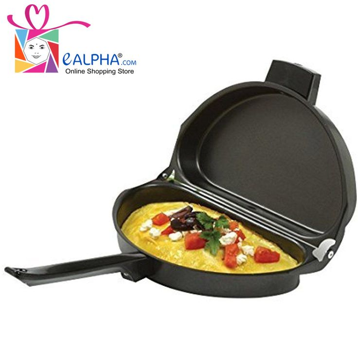 Fold Over Non Stick Omelet Pan This Is One Of The Best Pans Even A Novice Can Make Perfect Every Time