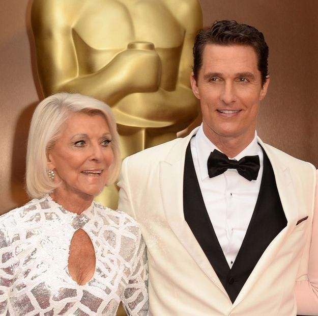 Matthew McConaughey's mom, Mary Kathlene | 6 Moms Who Totally Stole The Show At The Oscars