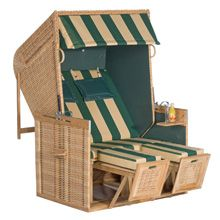 SonnenPartner Rustikal 150 Z Teak beach chair, lounger model, natural  deddd